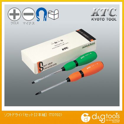 KTC ソフトドライバセット   TD702 2 本組