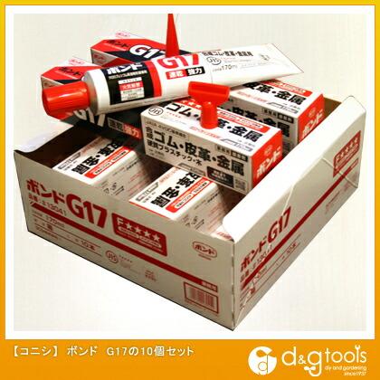 ボンド 造作用接着剤 G17  170ml #13041 10 個