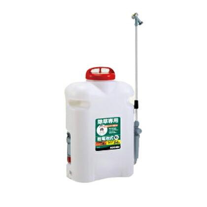 背負電池式散布器 除草名人 除草剤専用・乾電池式  10L JS-10
