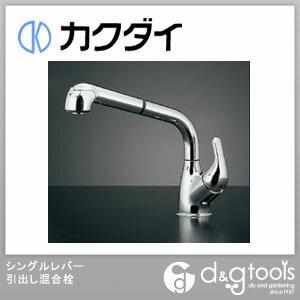 シングルレバー引出し混合栓(混合水栓) (118-039)