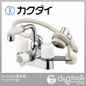 2ハンドル混合栓(シャワつき)(混合水栓)シャワー混合栓 (1521S)