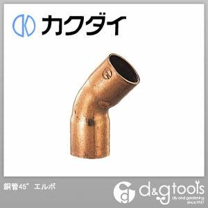 カクダイ 銅管45°エルボ   6691-25.4