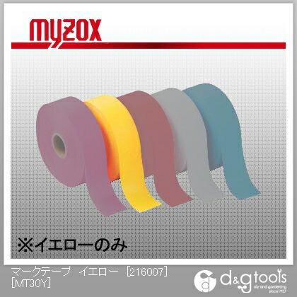 マークテープ イエロー [216007]  10巻 標識テープ (MT30Y)