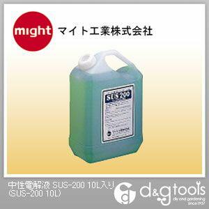 中性電解液 (SUS-200 10L)