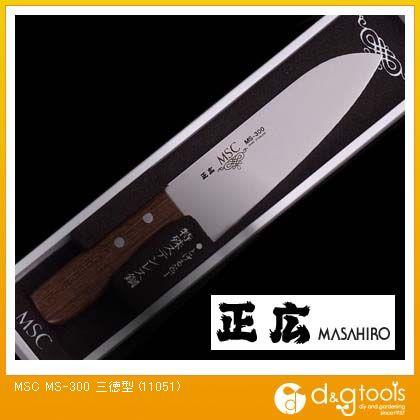 包丁MS-300三徳型ステンレス包丁   11051