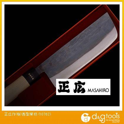正広 包丁(桜)西型菜切   10762