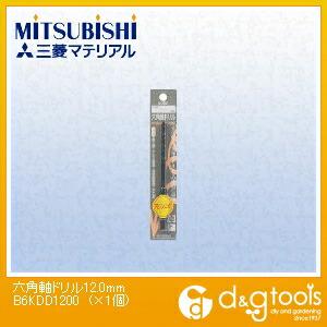 六角軸ドリル 12.0mm (B6KDD1200) 1個