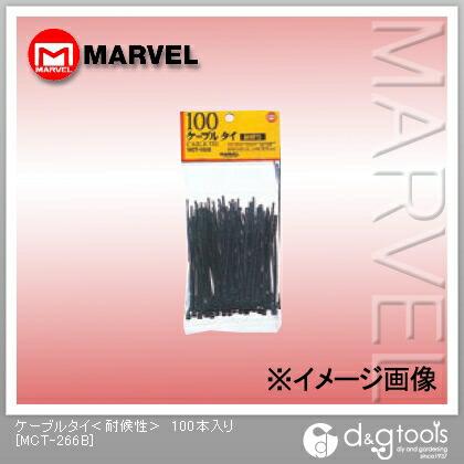マーベル ケーブルタイ(耐候性)   MCT-266B 100 本