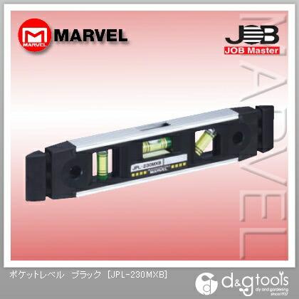ジョブマスター ポケットレベル ブラック  JPL-230MXB
