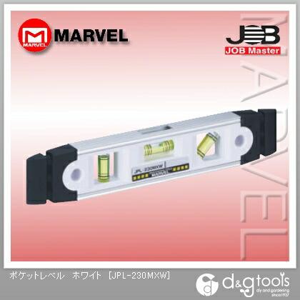 ジョブマスター ポケットレベル ホワイト  JPL-230MXW