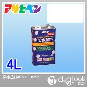 防水塗料 (透明)クリア 4L