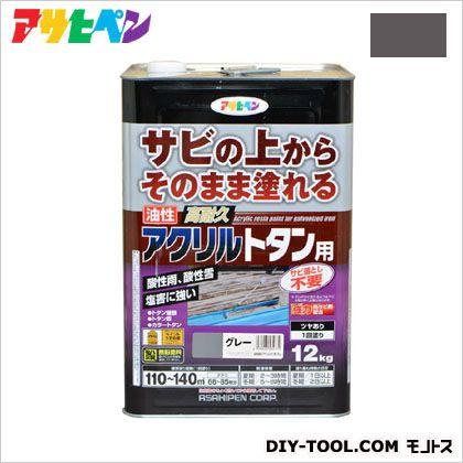 油性高耐久アクリルトタン用塗料 グレー 12kg