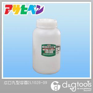 アサヒペン 広口丸型容器  2L 1028-09