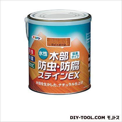 アサヒペン 水性木部防虫・防腐ステインEX(水性木部用塗料) ウォルナット 1.6L