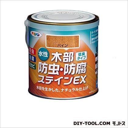 アサヒペン 水性木部防虫・防腐ステインEX(水性木部用塗料) ウォルナット 0.7L