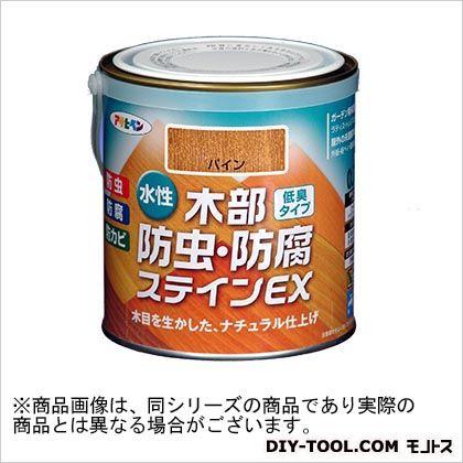 アサヒペン 水性木部防虫・防腐ステインEX(水性木部用塗料) パイン 0.7L