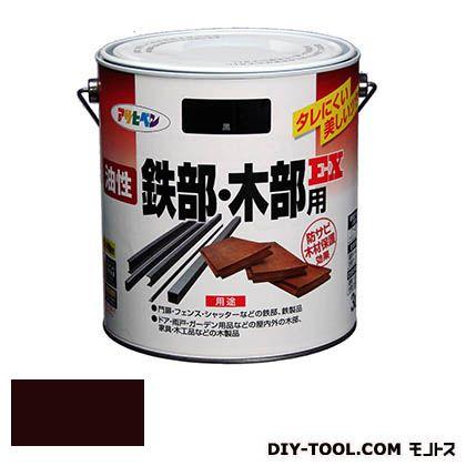 油性鉄部・木部用EX こげ茶 3L