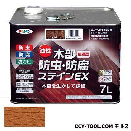 木部防虫・防腐ステインEX(油性木部用塗料) ライトオーク 7L