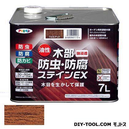 木部防虫・防腐ステインEX(油性木部用塗料) チーク 7L