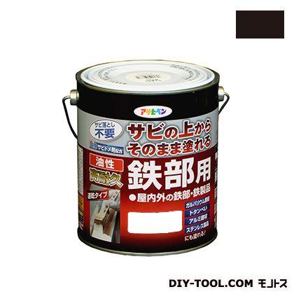 油性高耐久鉄部用塗料 ツヤ消し黒 1.6L