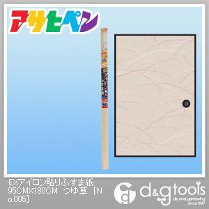 EXアイロン貼りふすま紙 つゆ草 幅95cm×長180cm No.005