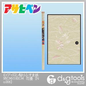 EXアイロン貼りふすま紙 花優 幅95cm×長180cm No.006