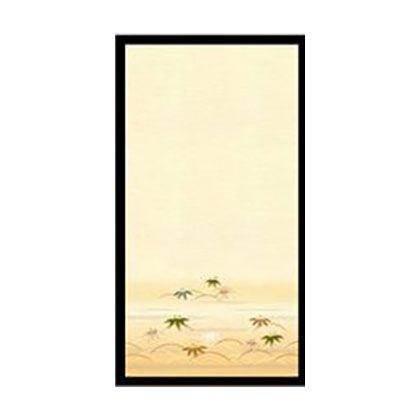 EXアイロン貼り糸入りふすま紙 笹 95cm×180cm No.092