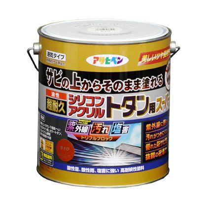油性超耐久シリコンアクリルトタン用 黒 3kg