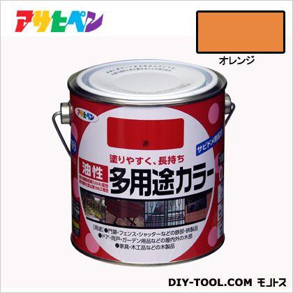 油性多用途カラー オレンジ 0.7L