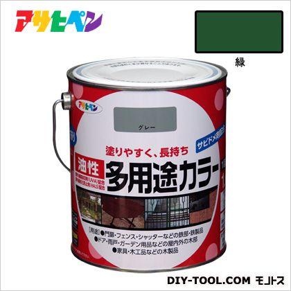 油性多用途カラー 緑 1.6L