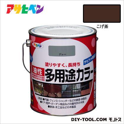 油性多用途カラー こげ茶 1.6L