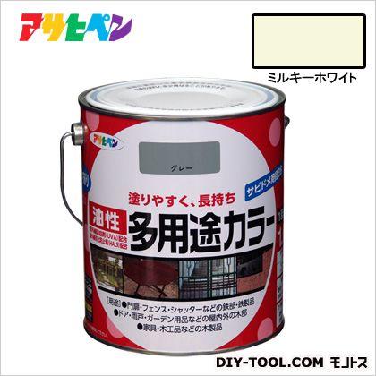 油性多用途カラー ミルキーホワイト 1.6L