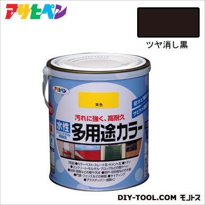 水性多用途カラー ツヤ消し黒 1.6L