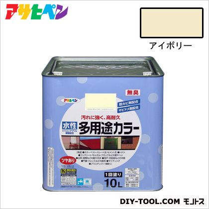 水性多用途カラー アイボリー 10L
