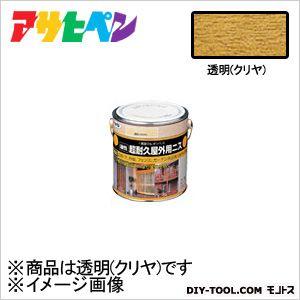 アサヒペン 油性超耐久屋外用ニス 透明(クリヤ) 0.7L