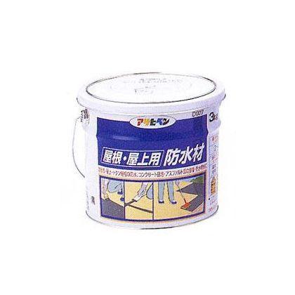屋根・屋上用防水材 黒 3kg (D027)