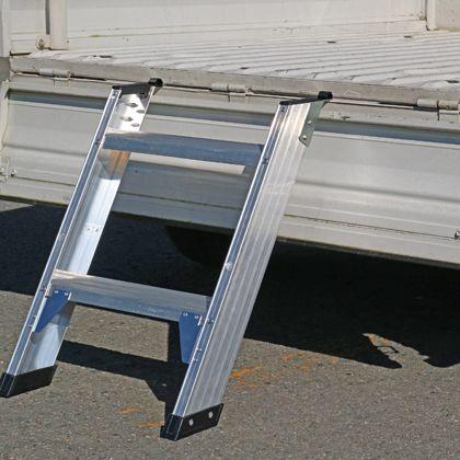 アルインコ 軽トラック用タラップ  全長815mm全幅511mm CWS65 1 台