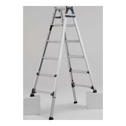 脚伸縮はしご兼用脚立  天板高さ1.59-1.89m PRW180FX