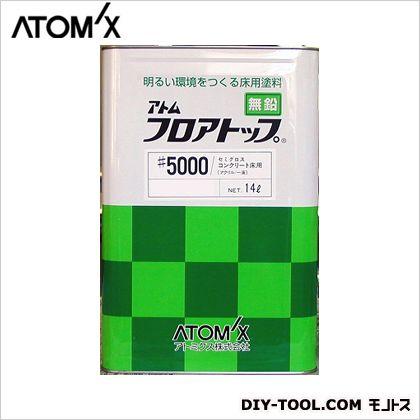 フロアトップ#5000 床用塗料 #9 サマーグリーン 15kg