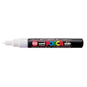 三菱鉛筆 ポスカ PC-1M 1 白  PC1M.1  本