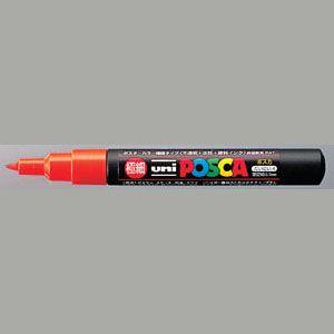 三菱鉛筆 ポスカ PC-1M 4 橙  PC1M.4  本