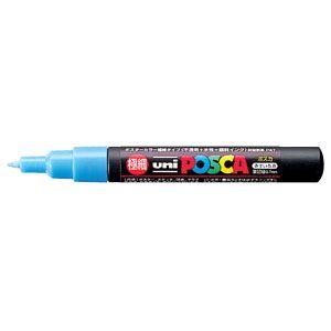 三菱鉛筆 ポスカ PC-1M 8 水色  PC1M.8  本