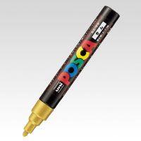 三菱鉛筆 ポスカ PC-5M 25 金  PC5M.25  本
