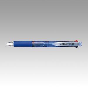 三菱鉛筆 多色ボールペン クリフター 黒,赤,青  SE3304T.33  本