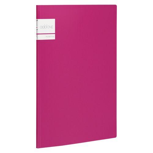アドワンポケットファイルA4 ピンク  AD-2645-21  冊