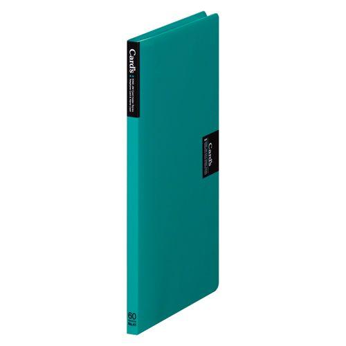 キングジム カードホルダー「カーズ」(溶着式) 緑  41  冊