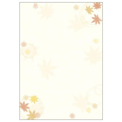 ササガワ 和柄用紙 和ごころ 紅葉  4-1003