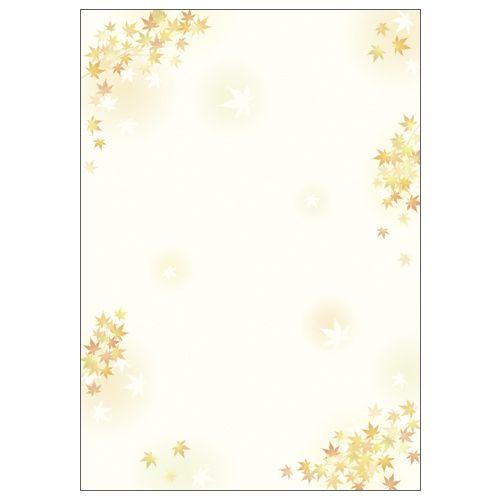 ササガワ 和柄用紙 和ごころ 枝紅葉  4-1022