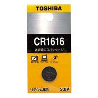 東芝 リチウムボタン電池   CR1616EC
