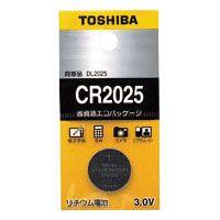 東芝 リチウムボタン電池   CR2025EC